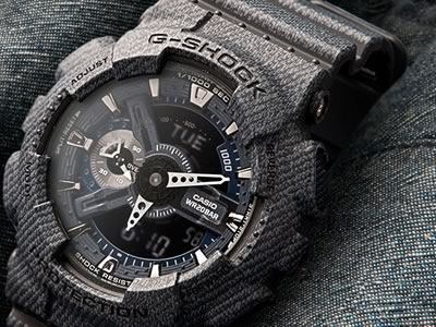 Orologi g-shock denim