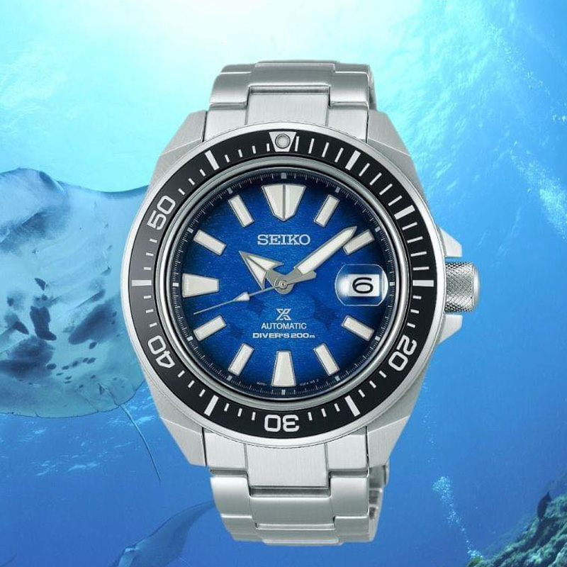 seiko save the ocean samurai srpe33k1e