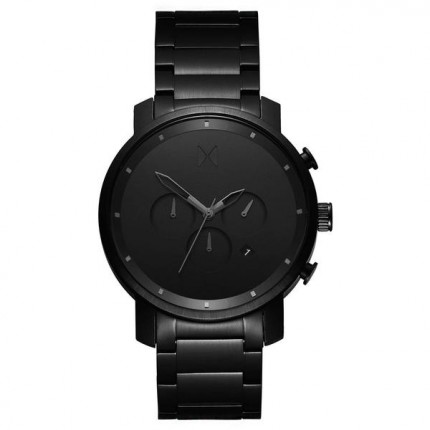 MVMT CHRONO BLACK LINK