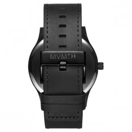MVMT CLASSIC SERIES BLACK LEATHER
