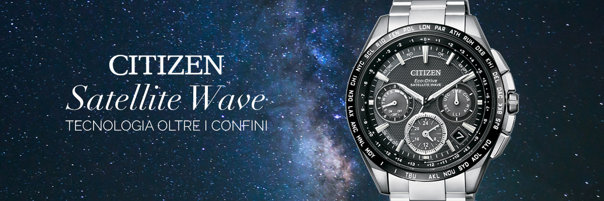 orologi citizen satellite wave