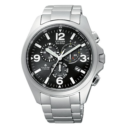CITIZEN FIELD SUPER TITANIO RADIOCONTROLLATO
