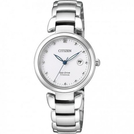 CITIZEN LADY SUPER TITANIUM ECO-DRIVE