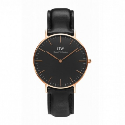 DANIEL WELLINGTON CLASSIC BLACK 36 MM