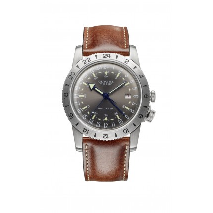 "GLYCINE AIRMAN VINTAGE ""THE CHIEF"""