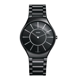 RADO TRUE THINLINE NERO INDICI