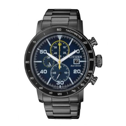 CITIZEN CHRONO SPORT PVD NERO