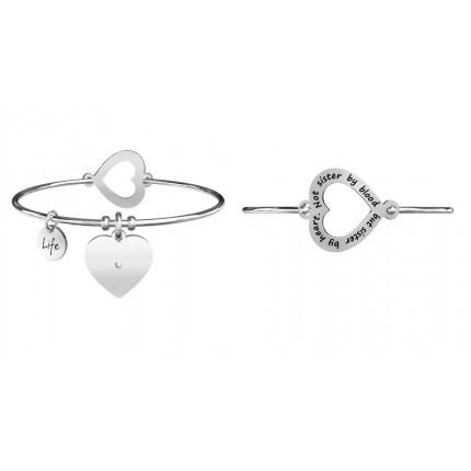 "KIDULT Love –  Bracciale ""Not Sister By"""