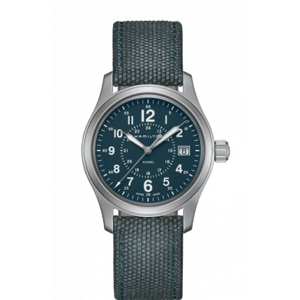 HAMILTON KHAKI FIELD QUARZO 38MM BLU