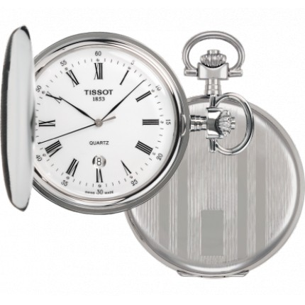 TISSOT POCKET SAVONNETTE QUARZO RIGHE