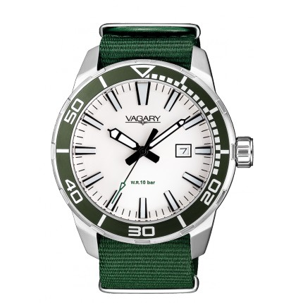 VAGARY by CITIZEN AQUA39 BIANCO VERDE