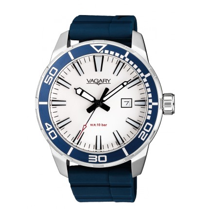 VAGARY by CITIZEN AQUA39 BLU GOMMA