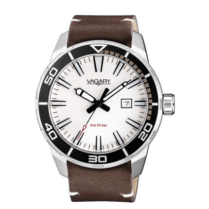 VAGARY by CITIZEN AQUA39 BIANCO PELLE
