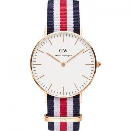 DANIEL WELLINGTON CLASSIC CANTERBURY 36 mm ROSE'