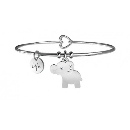 KIDULT Animal Planet – Bracciale - Elefante - Forza Interiore