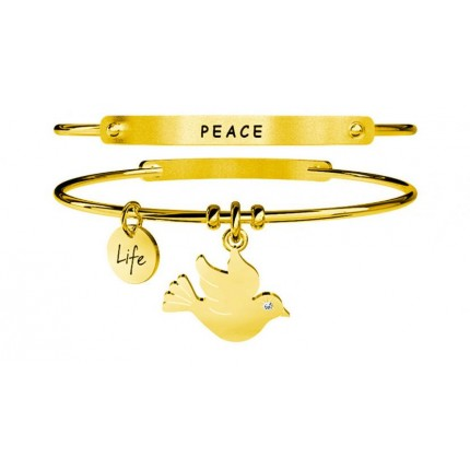 KIDULT Animal Planet – Bracciale - Colomba - Pace