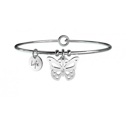 KIDULT Animal Planet – Bracciale - Farfalla - Carpe Diem