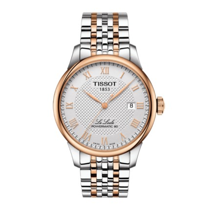 TISSOT LE LOCLE POWERMATIC 80 BICOLORE