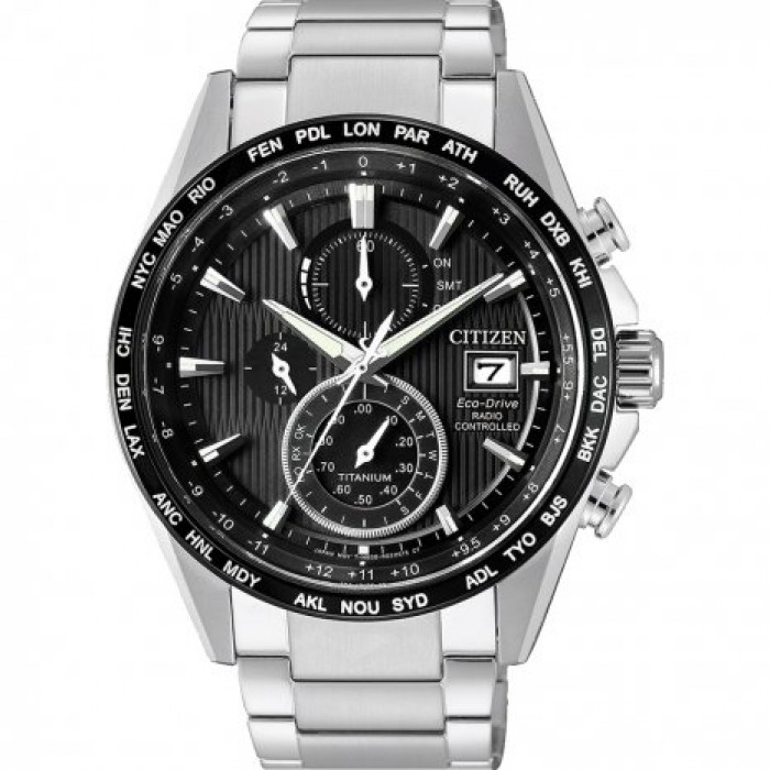 CITIZEN RADIOCONTROLLATO SUPER TITANIO ECO-DRIVE