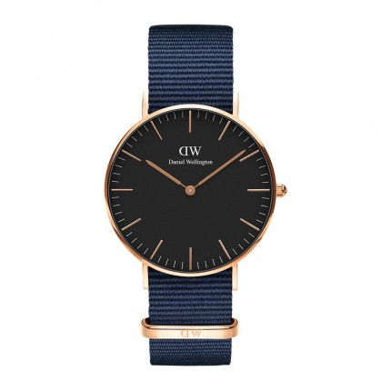 DANIEL WELLINGTON CLASSIC BLACK BAYSWATER 36mm