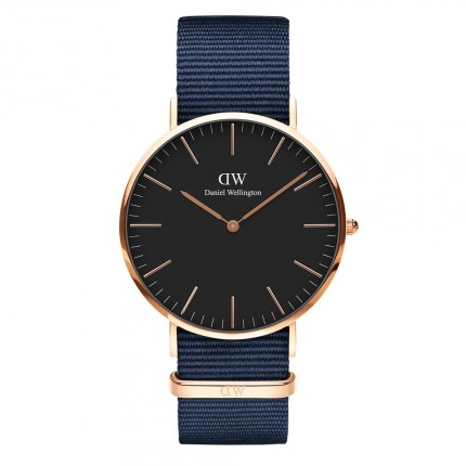 DANIEL WELLINGTON CLASSIC BLACK BAYSWATER 40mm