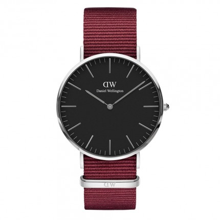 DANIEL WELLINGTON CLASSIC BLACK ROSELYN 40mm