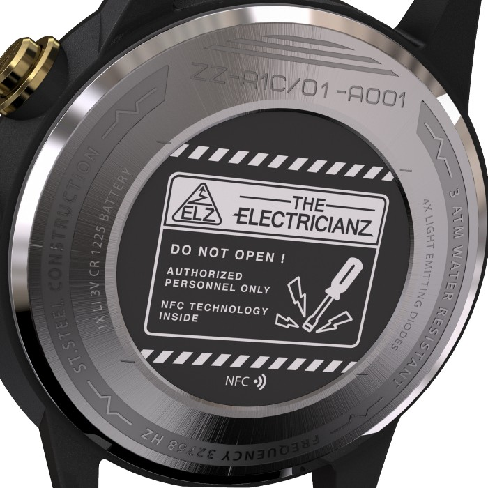 THE ELECTRICIANZ THE DRESSCODE