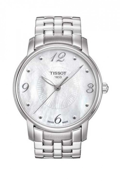 TISSOT LADY ROUND MOTHER OF PEARL