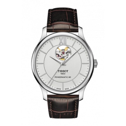 TISSOT TRADITION POWERMATIC 80 OPEN HEART