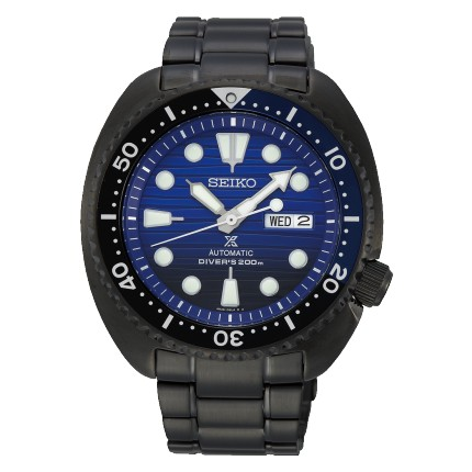 SEIKO PROSPEX TURLE SAVE THE OCEAN BLACK