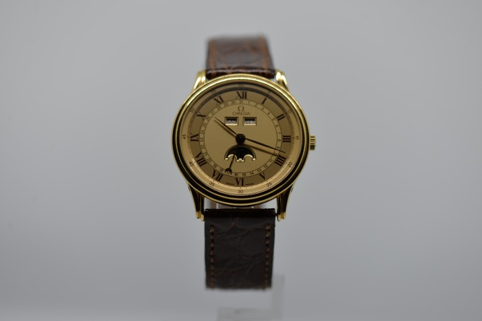 OMEGA MOONPHASE ORO 18K