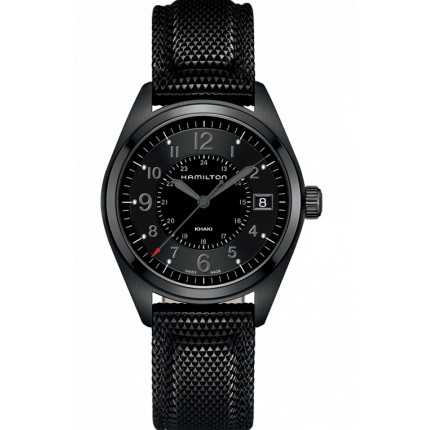 HAMILTON KHAKI FIELD QUARZO 40MM PVD