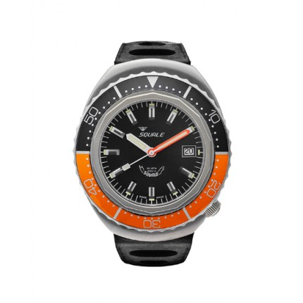 SQUALE 2002A GREYBLASTED BLACK/ORANGE