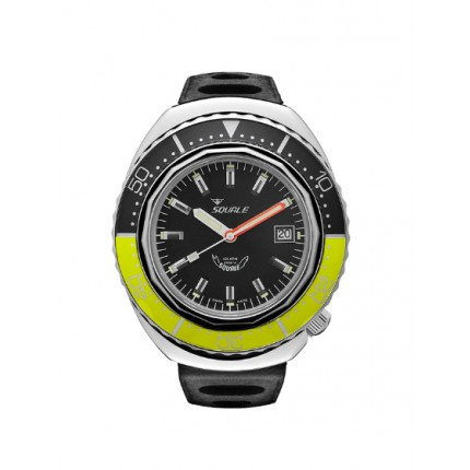 SQUALE 2002A POLISH BLACK BICOLOR YELLOW