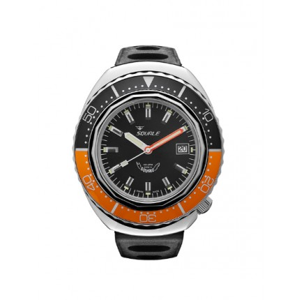 SQUALE 2002A POLISH BLACK/ORANGE