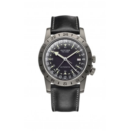 "GLYCINE AIRMAN VINTAGE ""THE CHIEF"" GMT"