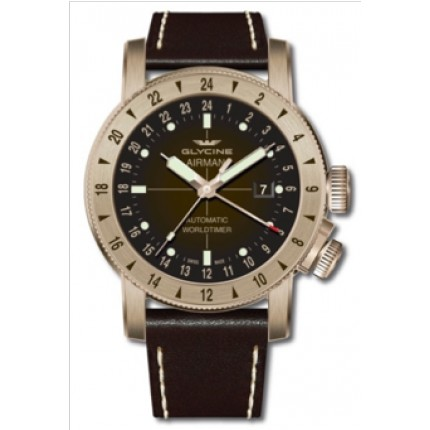GLYCINE AIRMAN 44 BRONZE