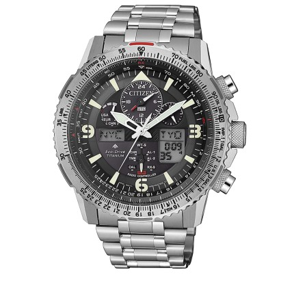 CITIZEN SKYHAWK SUPER TITANIO
