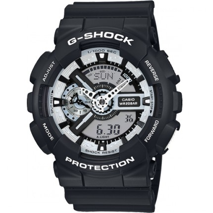 CASIO G-SHOCK  GA-110 BW