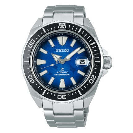 SEIKO PROSPEX SAMURAI SAVE THE OCEAN MANTA RAY
