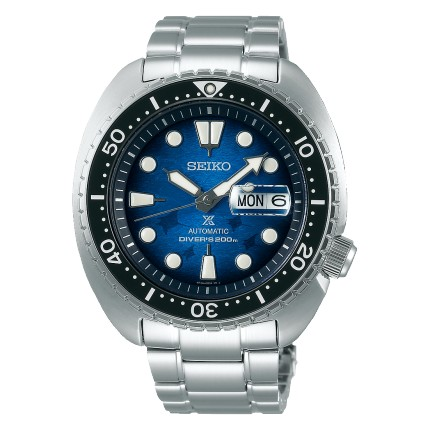 SEIKO PROSPEX TURTLE SAVE THE OCEAN MANTA RAY