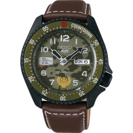 SEIKO 5 STREET FIGHTER V GUILE