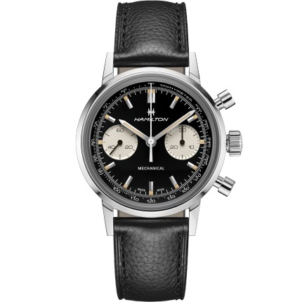 HAMILTON INTRA-MATIC CHRONOGRAPH H MECHANICAL
