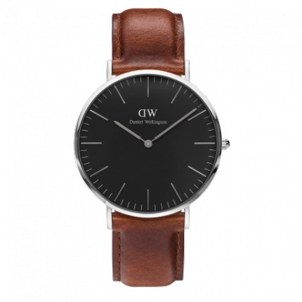 DANIEL WELLINGTON CLASSIC BLACK 36 MM  DURAHAM