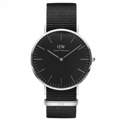 DANIEL WELLINGTON CLASSIC BLACK 40 MM CORNWALL