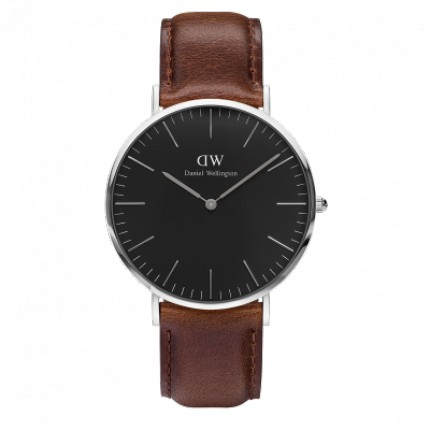 DANIEL WELLINGTON CLASSIC BLACK 40 MM BRISTOL