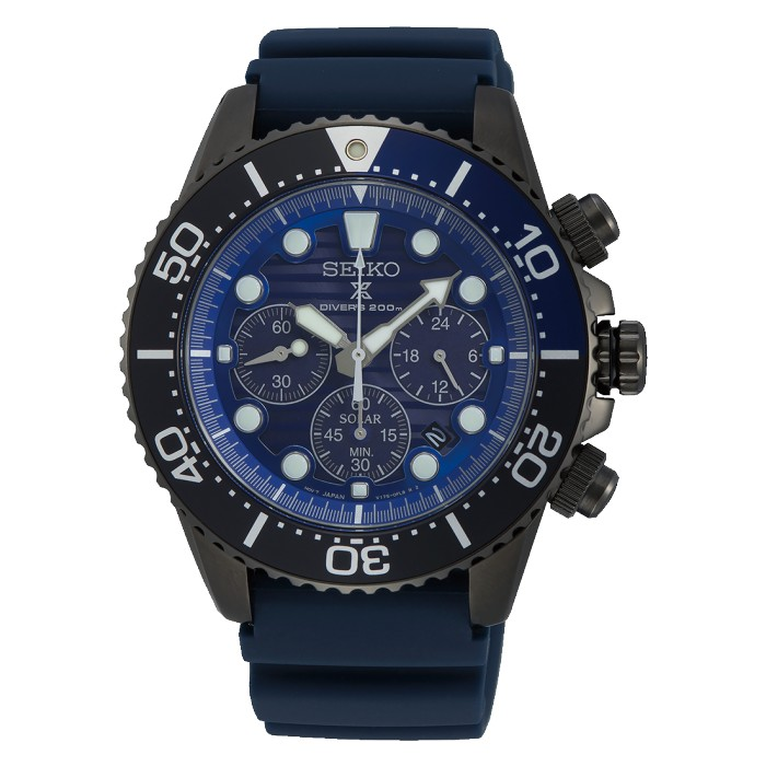 SEIKO PROSPEX SAVE THE OCEAN BLACK