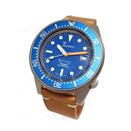 SQUALE 1521 PROFESSIONAL 50atm BLASTED BLUE