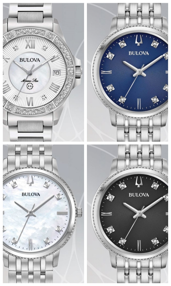 bulova diamonds donna
