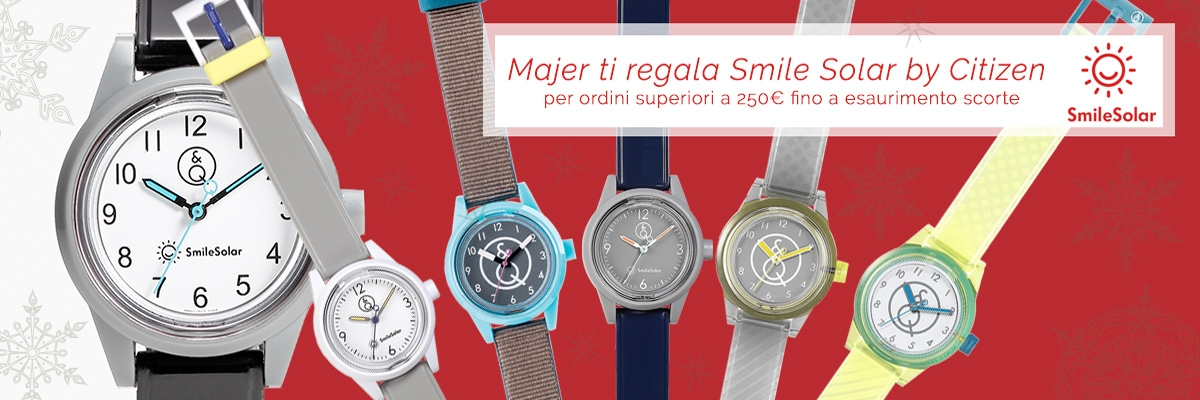 smile solar in regalo